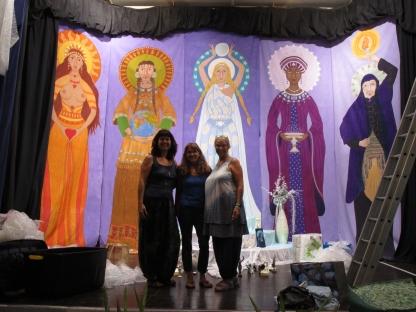 Me with Marion and Katinka